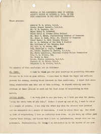 Charleston Vice: Minutes of the Conference Held in Admiral Allen's Office on October 1, 1941, on the Vice Conditions in the City of Charleston