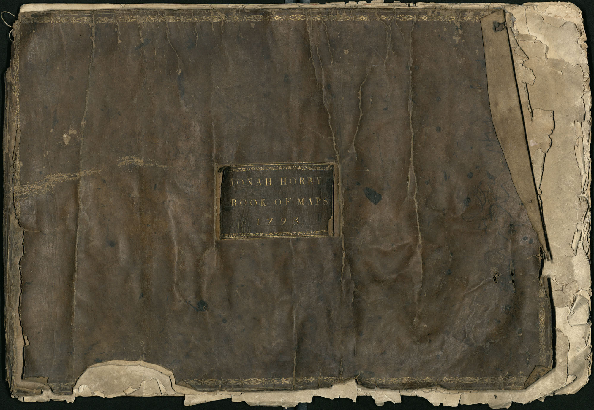 Jonah Horry Book of Maps, 1793