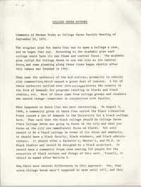 College Seven History