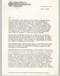 Enforcement of Civil Rights Laws, May 4, 1978