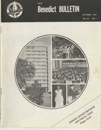 The Benedict Bulletin, October 1976