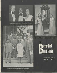 The Benedict Bulletin, September 1975