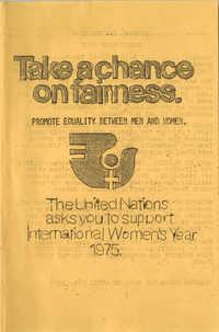 YWCA Spring 1975 Schedule