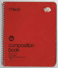 Bernice Robinson Composition Book
