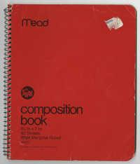 Bernice Robinson Composition Book