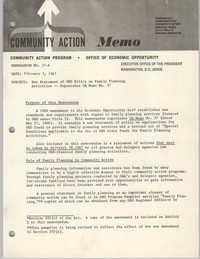 Community Action Program Memorandum No. 37-A