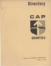 Community Action Programs Directory, June 15, 1966