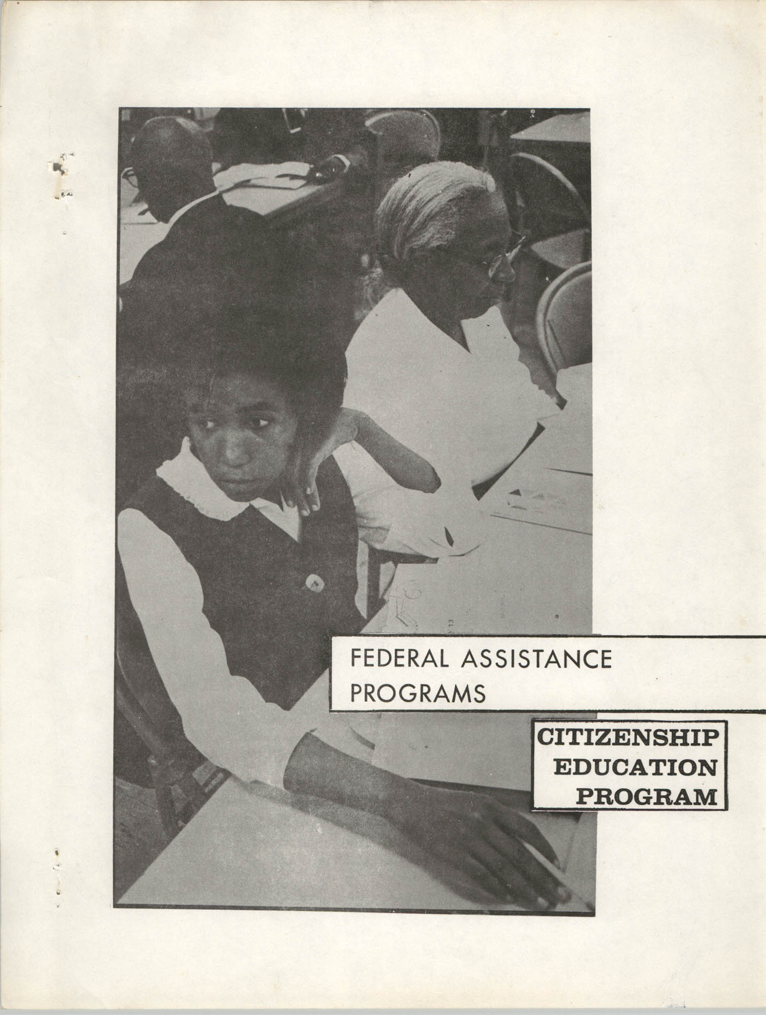 Federal Assistance Programs