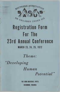 SACUS,  23rd Annual Conference Registration Form