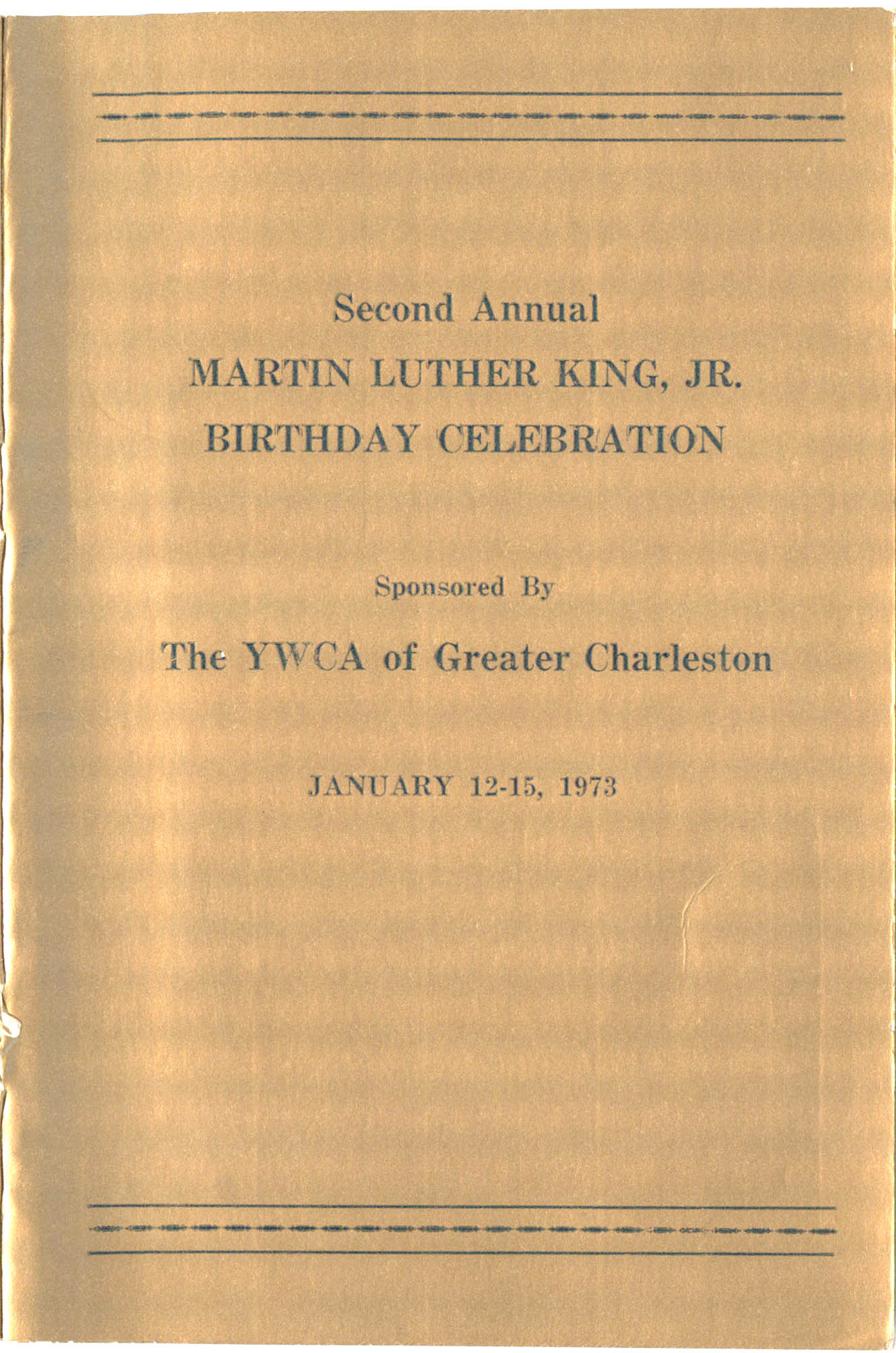 Second Annual Martin Luther King, Jr. Birthday Celebration