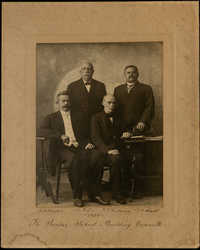 Photograph of The Sunday School Building Committee