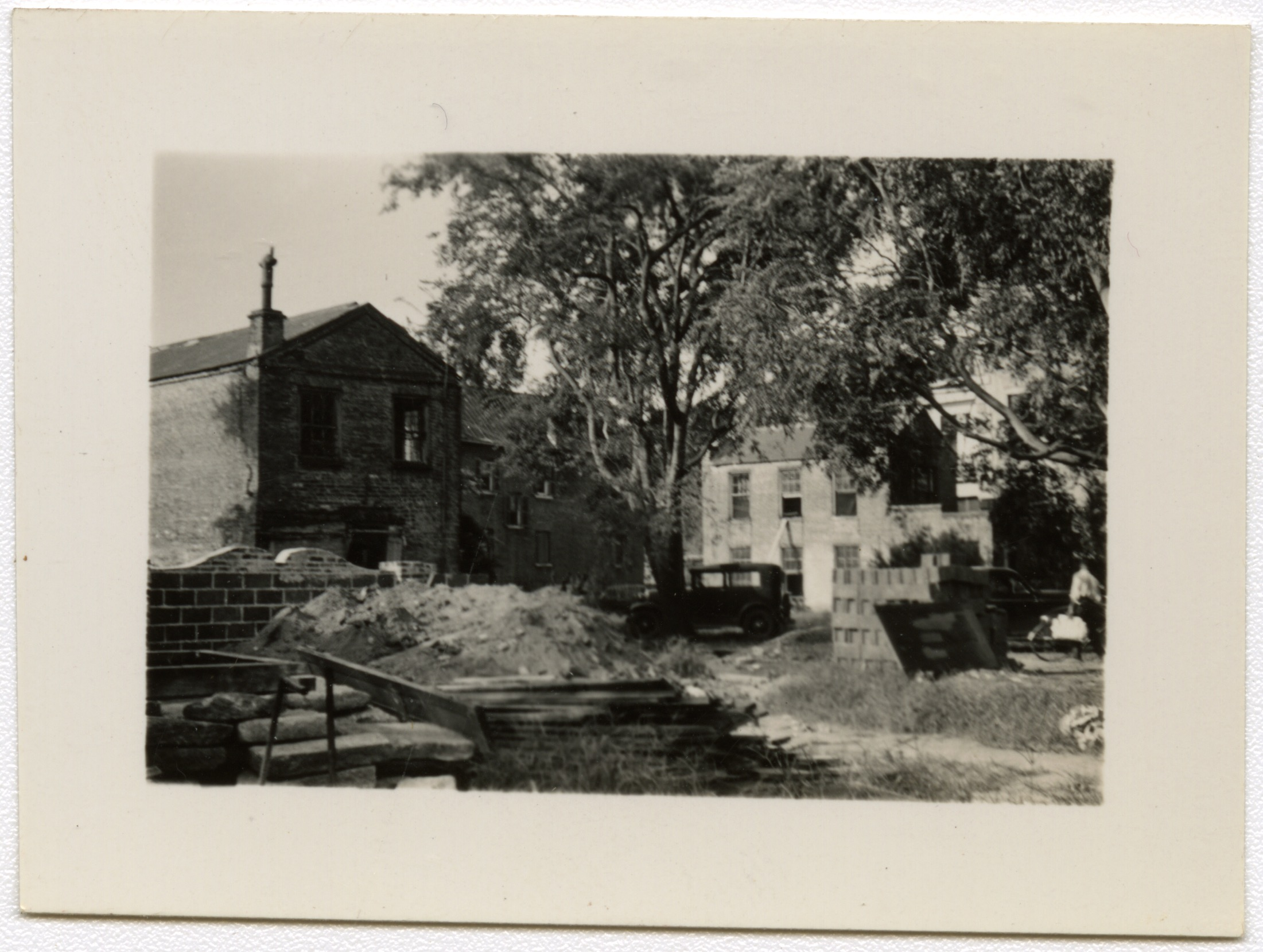 Index Card Survey of 54-62 Hasell Street, additional photos