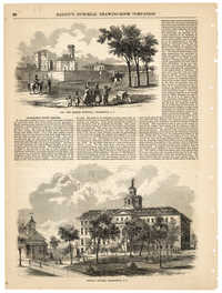 Illustrations of Charleston from Ballou's Pictorial Drawing-Room Companion