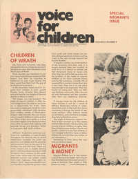 Voice For Children, Volume 4, Number 8