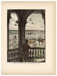 A glimpse of Charleston and Bay, from St. Michael's Church from Picturesque America
