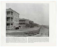 View of Residences on the water front, East Battery, 1890