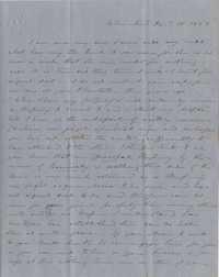 133. Aunt to James B. Heyward -- January 16, 1852
