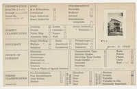 Index Card Survey of 38 Archdale Street