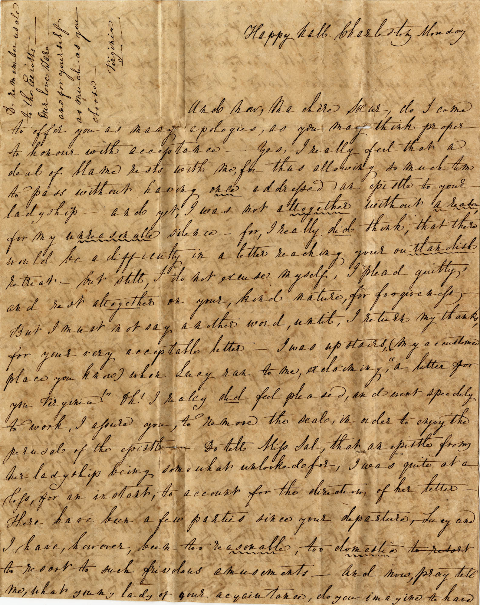 039. Virginia and Lucy to Anna B. Wilkinson -- n.d.