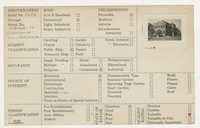 Index Card Survey of 50 Broad Street (Chamber Of Commerce)