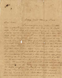 024. William Wilkinson to Dr. Willis Wilkinson -- February 19th, 1840