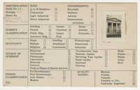 Index Card Survey of 61 Church Street (First Baptist Church)