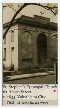 Survey photo of St. Stephen's Episcopal Church (67 Anson Street)