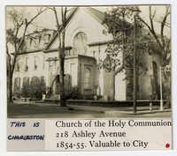 Survey photo of Church of the Holy Communion (218 Ashley Avenue)