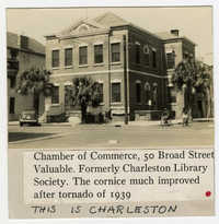 Survey photo of the Chamber of Commerce (50 Broad Street)