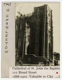 Survey photo of Cathedral of St. John the Baptist (122 Broad Street)