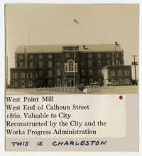 Survey photo of the West Point Rice Mill