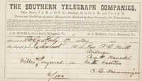 101. C.G. Memminger to Rev. P.T. Keith -- July 17, 1863?