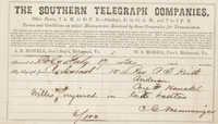 101. C.G. Memminger to Rev. P.T. Keith -- July 17, 1863?