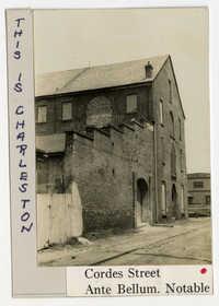 Survey photo of Cordes Street