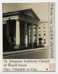 Survey photo of St. Johannes Lutheran Church (48 Hasell Street)