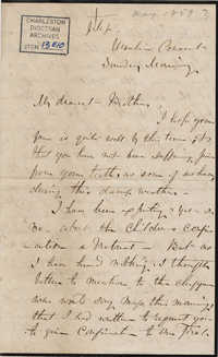 047. Madame Baptiste to Bp Patrick Lynch -- May, 1859
