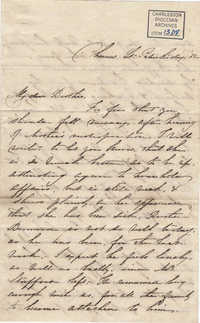 037. Anna Lynch to Bp Patrick Lynch -- March 17, 1859