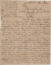 261. Madame Baptiste to Bp Patrick Lynch -- January 26, 1863