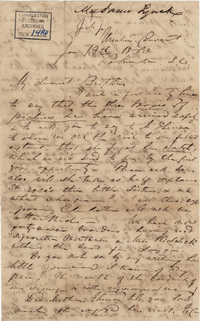 259. Madame Baptiste to Bp Patrick Lynch -- January 13, 1863