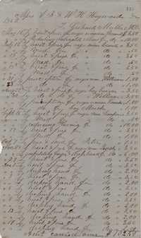 187. Medical Account of Gerhard Muller, MD, for Heyward slaves -- June 6, 1863