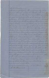 196. Bond of slave purchase -- June 1863