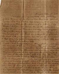 021. P.G.E. to Anna Wilkinson -- October 3, 1834