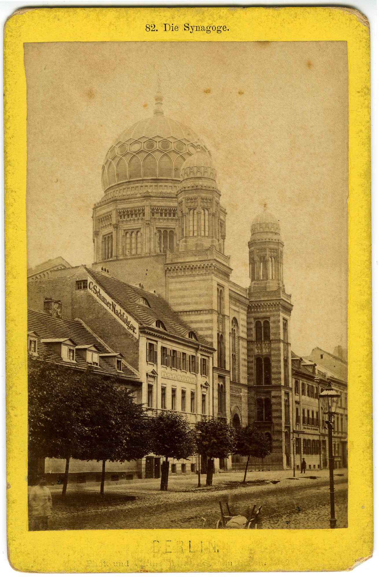 Die Synagoge. Berlin.