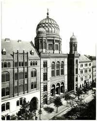 Berlin, Die Synagoge