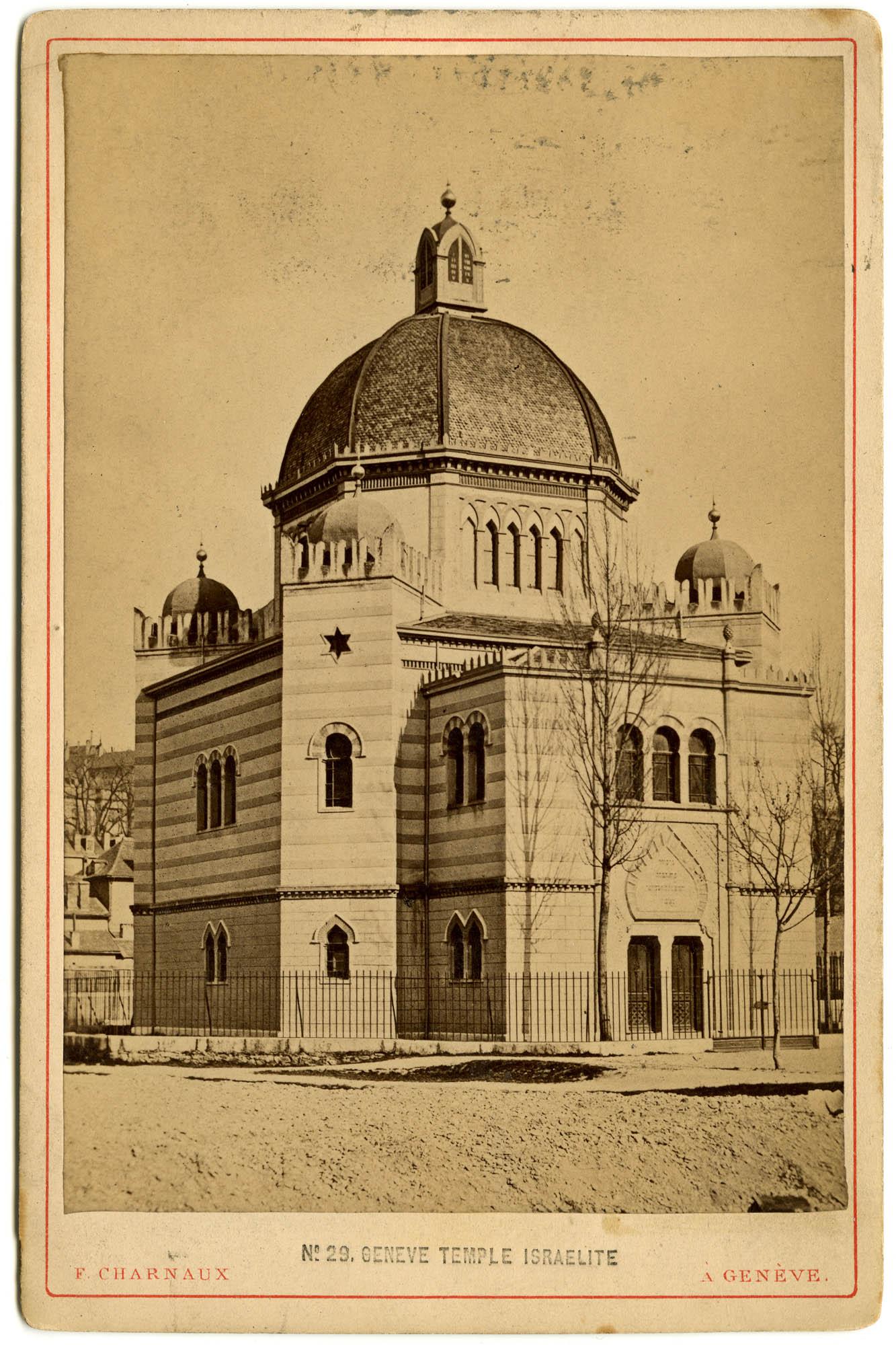 Geneve, Temple Israelite