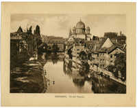 Nürnberg. An der Pegnitz.