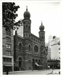 [Central Synagogue, NY]