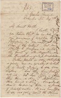067. Madame Baptiste to Bp Patrick Lynch -- August 7, 1859