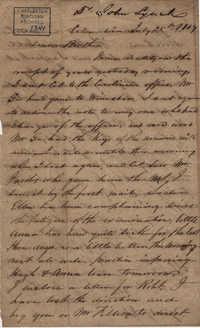 061. John Lynch to Bp Patrick Lynch -- July 25, 1859