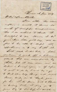 055. Francis Lynch to Bp Patrick Lynch -- June 16, 1859
